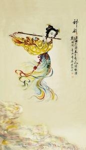 绘画: 赞神韵 Painting: Praise Shen Yun